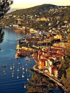 Villefranche-sur-Mer, French Riviera - someday I will return to this lovely seaside village