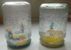 DIY Snow Globes! #Christmas
