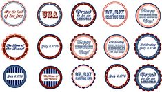 {Freebie} 4th of July Patriotic Printables By Pizzazzerie