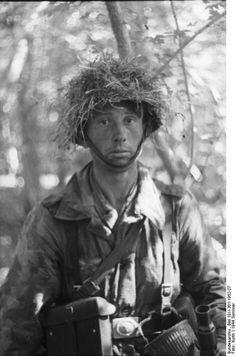 German soldier. North France 21 June 1944