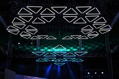 GRID: Audiovisual Installation by WHITEvoid & Monolake   Inspiration Grid   Design Inspiration