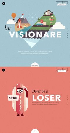 Visionare, June 2, 2014. http://www.awwwards.com/web-design-awards/visionare #UI #Inspiration #WebDesign #Scroll #Illustration #Colorful #SOTD #Awwwards