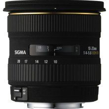 Sigma EX Zoom lens - 10 mm - 20 mm - F/4.0-5.6 - Canon EF