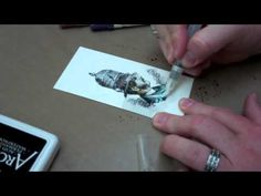Learn the basic tips & tricks using Ranger's Distress Markers from Creative Director Tim Holtz.