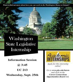 internship info, info session, legisl internship, session today