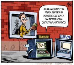 Cajeros automáticos en España (repinned by @Ricardo Llera) #humor