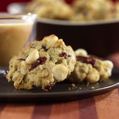 White Chocolate Cranberry Cookies - Sugar Free