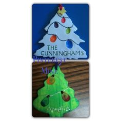 Fingerprint ornament--- great xmas present for family members