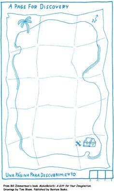 Draw a treasure map!