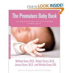 Preemie book for parents.