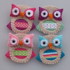 more felt owls