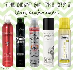 Dry Conditioner… the new MUST HAVE Hair Product!!