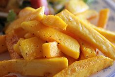 Roasted Butternut Squash Fries (gluten free, nightshade free)