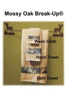 Mossy Oak bath towels