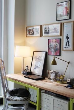 house tours, office spaces, desk space, diy desk, desk areas, home offices, workspac