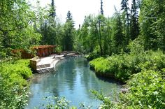 The Liard River Hot Springs