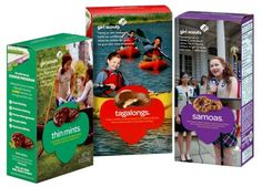 Girl Scout Cookie Make-Over