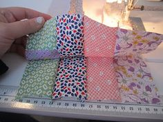 1600 Jelly roll quilt tutorial - very easy and each is unique