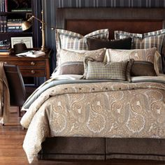 Jackson Bedding Collection from PoshLiving.Com