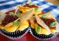 Fake Out Nacho Cupcakes by Sweet Simple Stuff