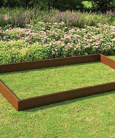Brown Raised Flower Bed Frame #zulily #zulilyfinds