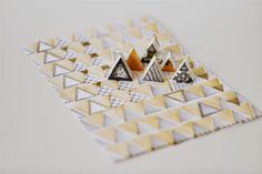 emuse: Tutorial: Carved Charles Rennie Mackintosh triangle stamps