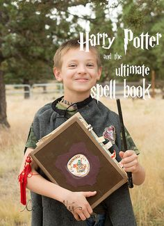 Happy Birthday Harry Potter, from Casa Crafty the ultimate spell book!