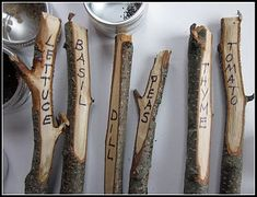 A more natural way to identify your seeds! :)