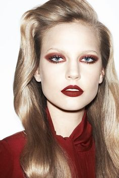 Elisabeth Erm by Katja Rahlwes for Vogue Paris, October 2013. vogue paris, makeup, vogu pari, octob 2013, beauti, pari octob, beauty, elisabeth erm, katja rahlw