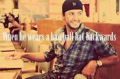 this man, hats, country boys, country girls, luke bryan, hot, handsome man, countri, thing