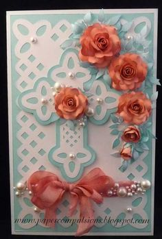 Lattice Cross Card