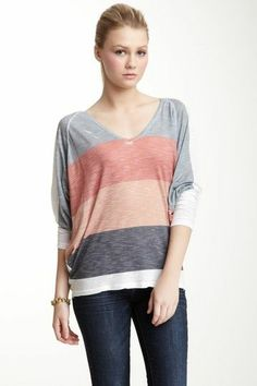 Comfy Striped Shirt.