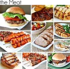 BBQ Make-a-Menu {45 great recipes for a summer BBQ}--including meats, sides, and even desserts!