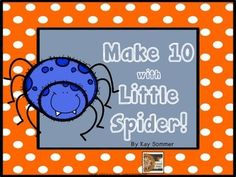 Make 10 with Little Spider! {FREE}