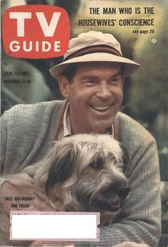 Fred MacMurray - TV Guide Magazine [United States] (12 November 1960)