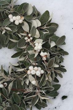 #mistletoe #wreath