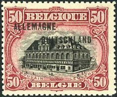 The Library of Louvain was a source of pride in Belgium before the German invasion.  Here it is on a piece of currency, demonstrating the value Belgium placed on the library in association with intellectualism.  The ninth right to nations in a state of war prohibits the destruction such a building and declares that the enemy should be able to recognize these buildings by means of visible signs or notification.  The presence of the library on Belgium currency clearly marks the significance.  CF