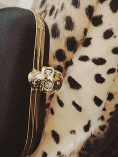 leopard + clutch.