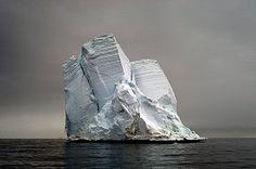 ice mountain in tilt