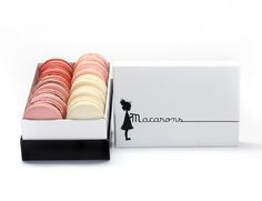 Box of 12 macarons f