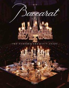 The first book on the world-renowned House of Baccarat dives deep into one of the most distingued #luxury houses. Established in 1764, this book about the French company's production of jewelry, bar and #tableware and #lighting features the exquisite craftsmanship and rich legacy of the brand through beautiful images, advertising campaigns and celebrity clientele.