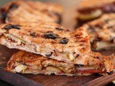 raisin bread, apple brie panini, bread recipes, brunch, roast appl