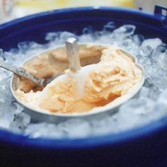 Fresh Peach Ice Cream Recipe - Saveur.com
