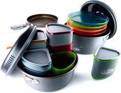 GSI Outdoors Pinnacle Camper Cookset - Free Shipping at REI.com