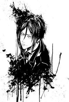 Kuroshitsuji: Sebastian Michaelis by Moisca.deviantart.com on @deviantART