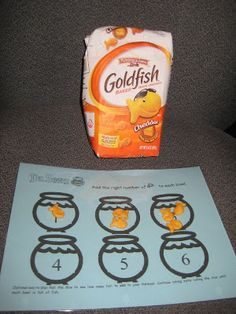 Ocean Week: read One Fish Two Fish Red Fish Blue Fish and then do a math sorting activity