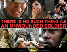 There is no such thing as an unwounded soldier...