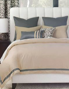 The Dempsey Bedding Collection is a study of understated complexity.