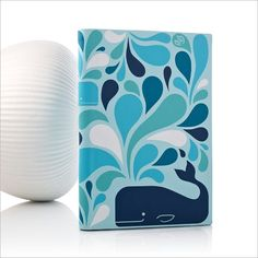 Jonathan Adler Blue Whale Cover - I have got to get this for my NoOk Color!!