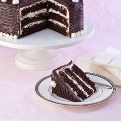 Black & White Cake, Gluten Free